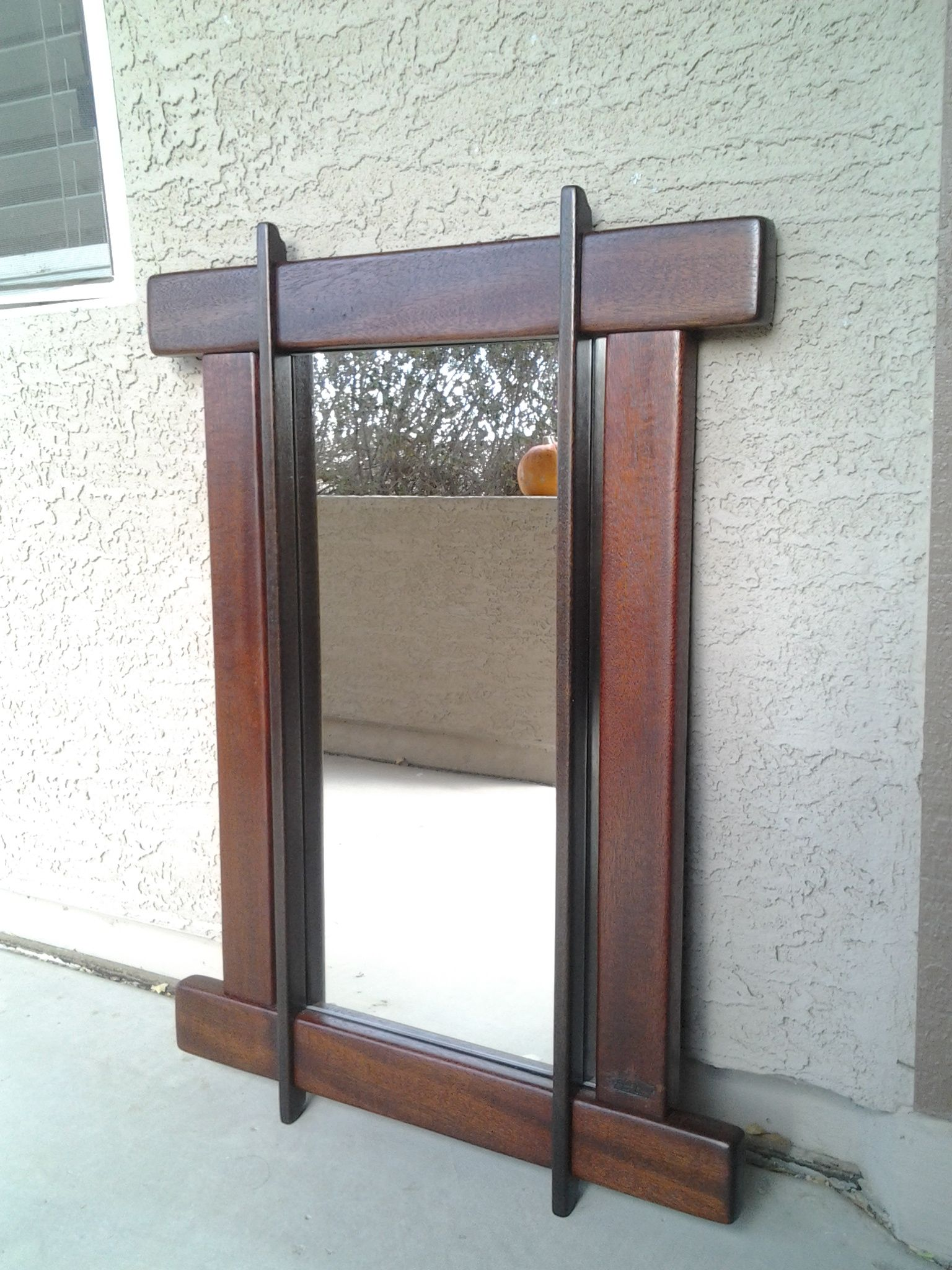 Craftsman Mirror Made From African Mahogany Craftsman Furniture Mission Style Furniture Arts And Crafts Furniture