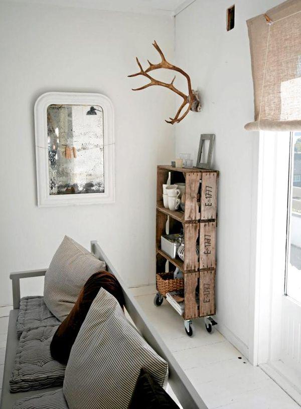 Diy Wooden Crates Cupboard Kast Van Houten Kratten Diy