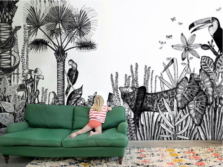 Bien maison \ - schöne tapeten fürs wohnzimmer