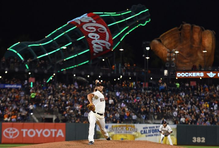 SAN FRANCISCO, CA - AUGUST 26: Madison Bumgarner #40 of the San Francisco Giants pitches against the Colorado Rockies in the top of the eighth inning at AT&T Park on August 26, 2014 in San Francisco, California. (Photo by Thearon W. Henderson/Getty Images)