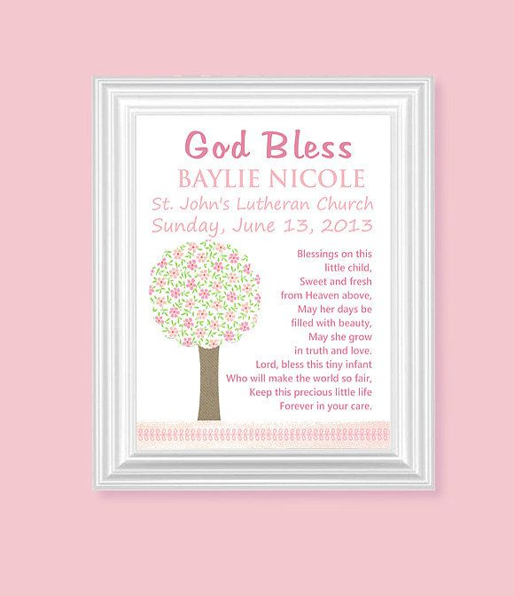 Christening poems for baby girl