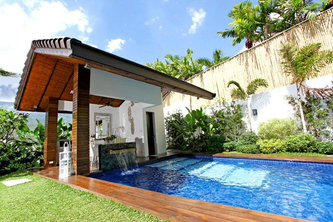7 Gardens And Swimming Pools Of Pinoy Celebrities Celebrity Houses City House House