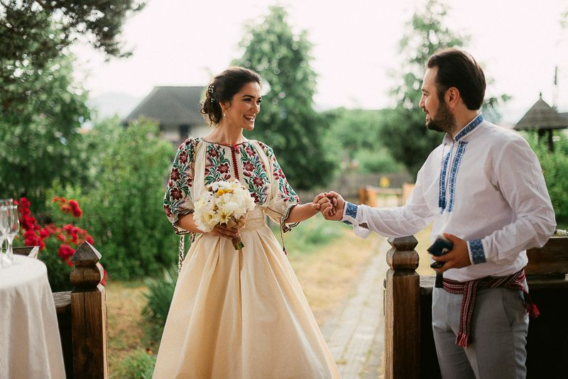 Romanian Wedding Dress