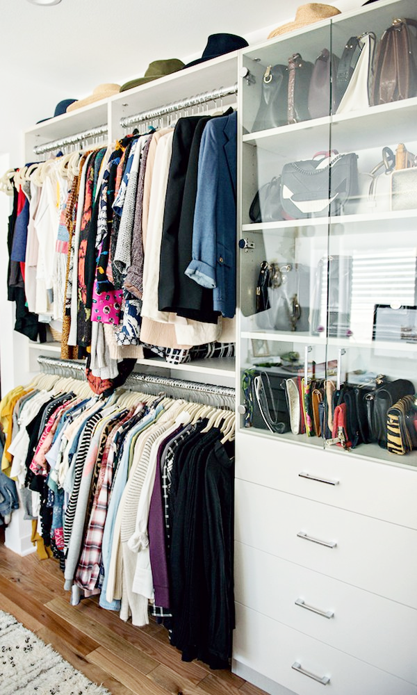 27 Closet Organization Ideas To Copy How Organize Design Your Built In Clothing Rack Shelves And Drawers