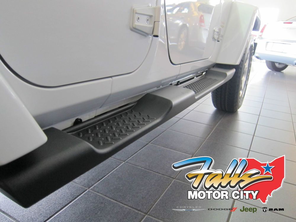 2007 2015 Jeep Wrangler Unlimited 4 Door JK Side Steps Running Boards Mopar OEM