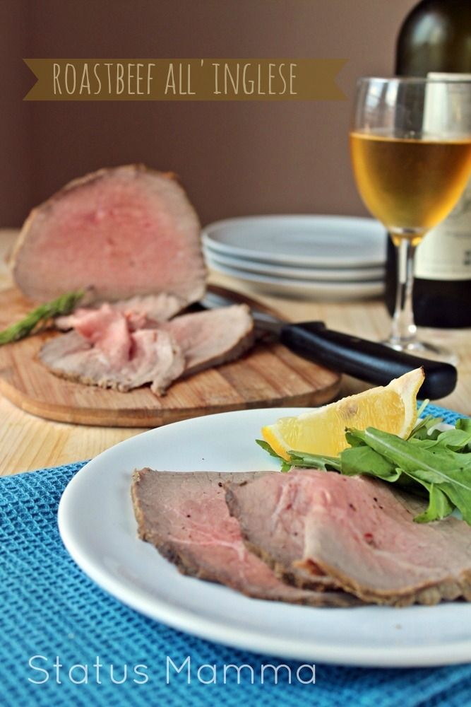 Roast beef all 39 inglese ricetta facile secondi ricette for Cucinare 8n inglese