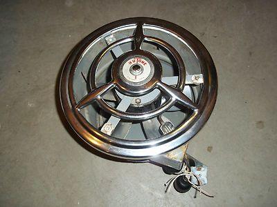 Vintage Retro Nutone Kitchen Bath Exhaust Fan W Chrome Trim