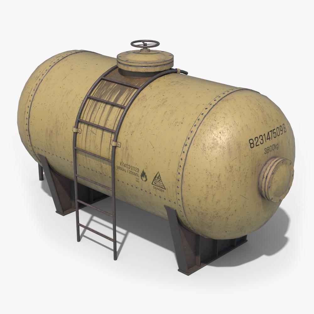 Oil Tank Containers 3d Model Turbosquid 1377112 Propane Tank Art Plasma Cutter Art Blender Models
