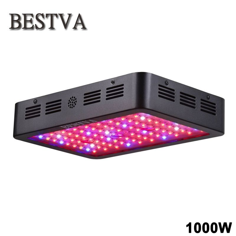 Led grow light 1000W Full Spectrum l& Panel for Medical Plants Veg Fruit indoor greenhouse plant  sc 1 st  Pinterest & Led grow light 1000W Full Spectrum lamp Panel for Medical Plants Veg ...