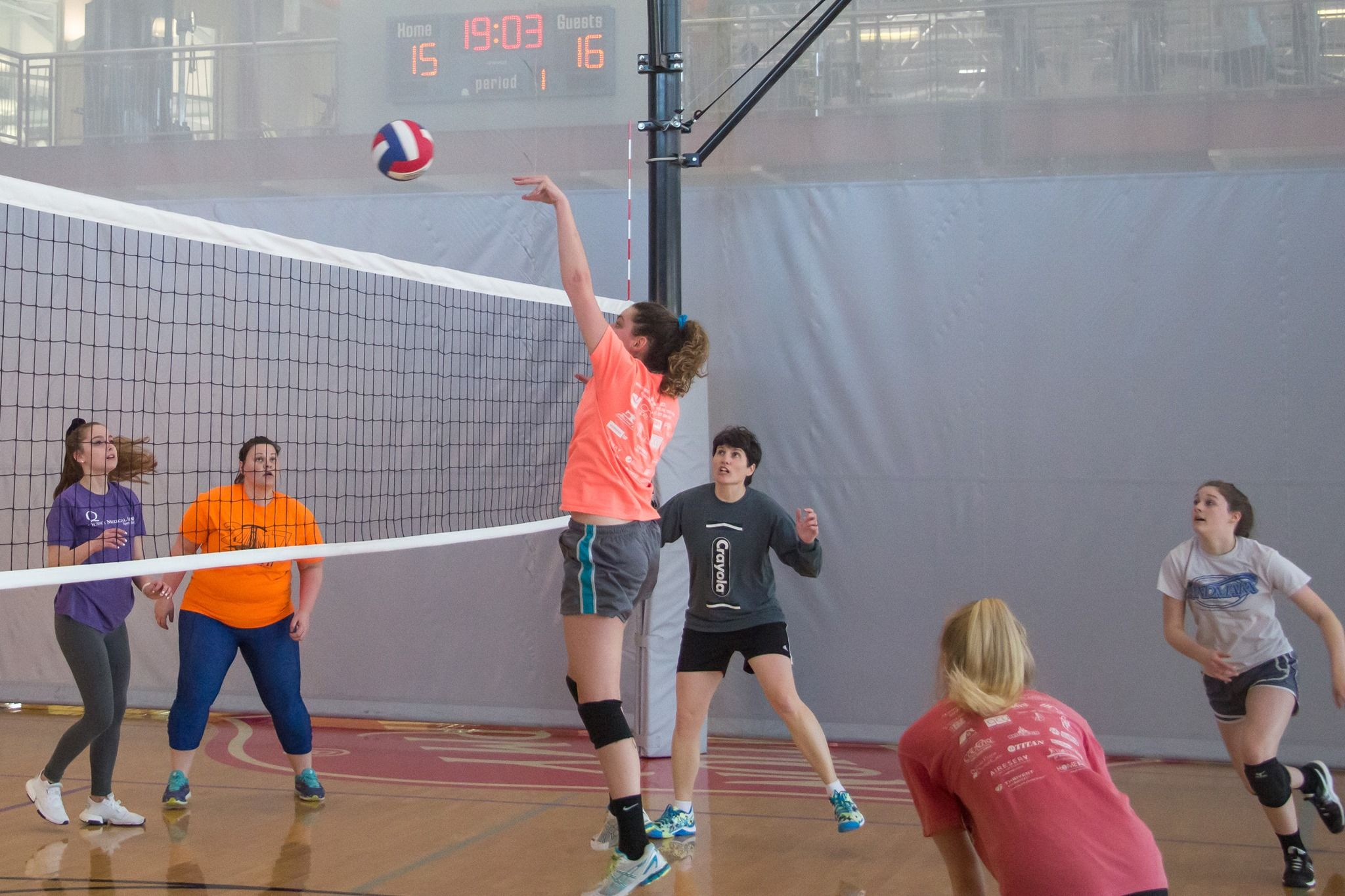 Volleyball Rec League Sports Salvation Army