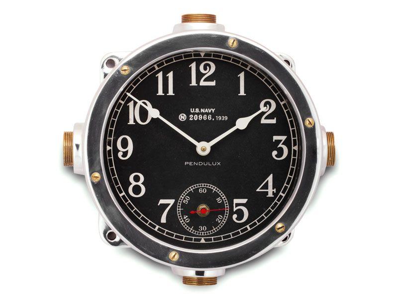 Pendulux Us Navy Master Clock Clock Wall Clock Pendulux Clock