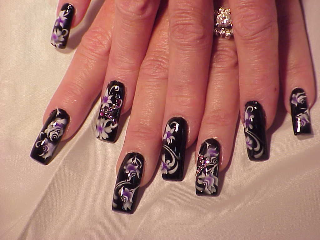 Airbrush nail designs gallery airbrushed flowers nail art airbrush nail designs gallery airbrushed flowers nail art archive style nails magazine prinsesfo Images