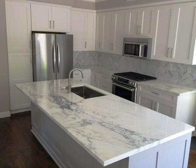 Photo Of Elite Cabinets Huntington Beach Ca United States Italian Carrara Countertop Huntington Beach Kitchen Cabinet