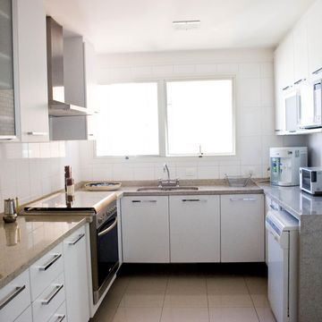 Cozinha Branca de Cozinha de Patricia Kolanian Pasquini - Viva Decora
