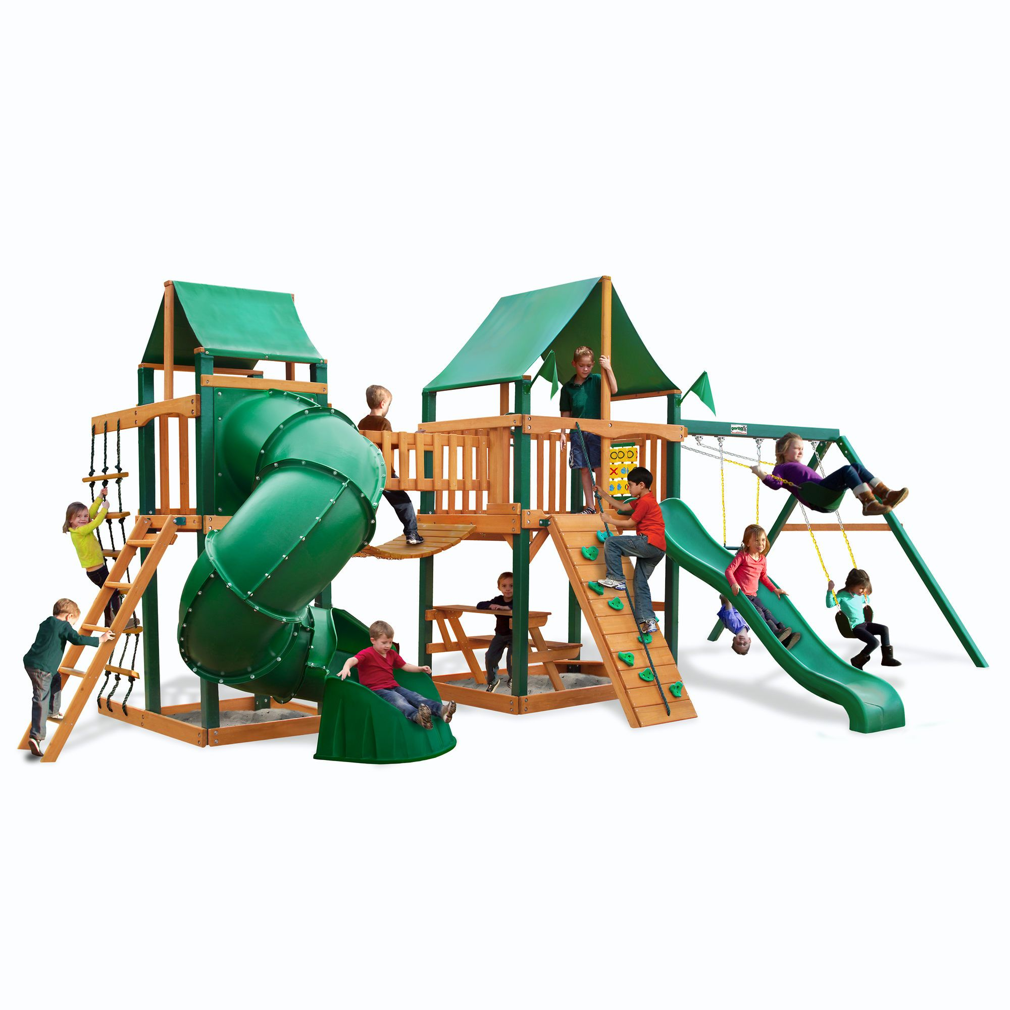 walmart wood com swing discovery oakmont somerset set wooden cedar backyard ip