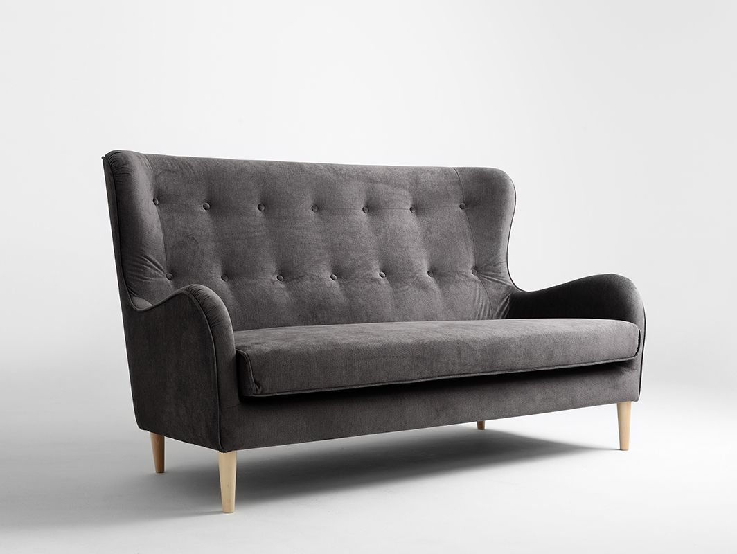 Sofa Cozyboy 3 Os Chmura Burzowa Mt15 Naturalny Sofa Couch Material Textil