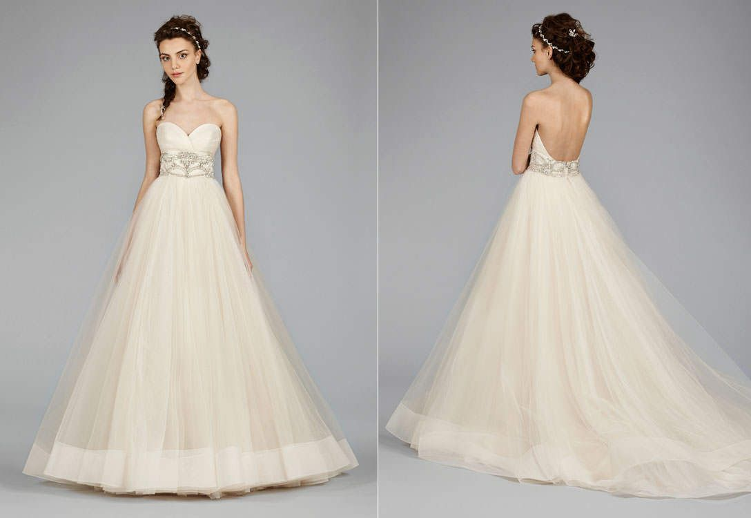 Lazaro Style 3453 Available At Julian Gold Bridal