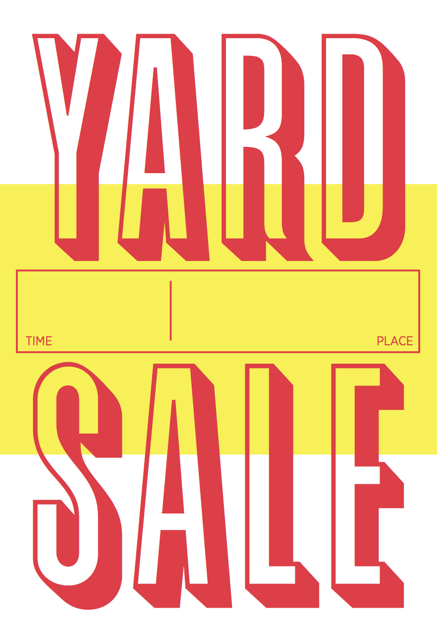 yard sale poster pinterest sale poster yard sale rh pinterest com garage sale graphics clip art garage sale graphics free