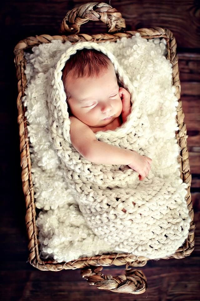 Newborn baby photo prop cream hooded cocoon 38 00 via etsy