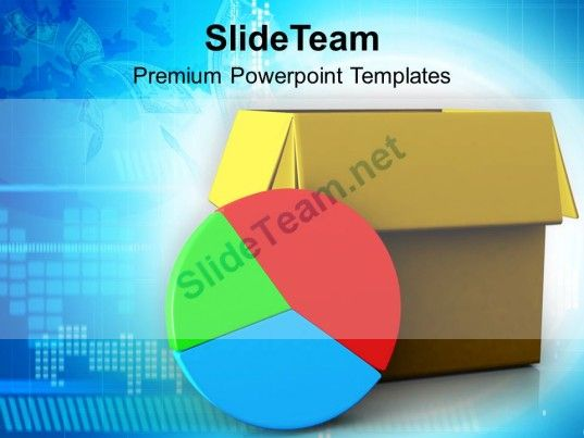Pie Chart Out Of Box Marketing Business Powerpoint Templates Ppt - pie chart templates