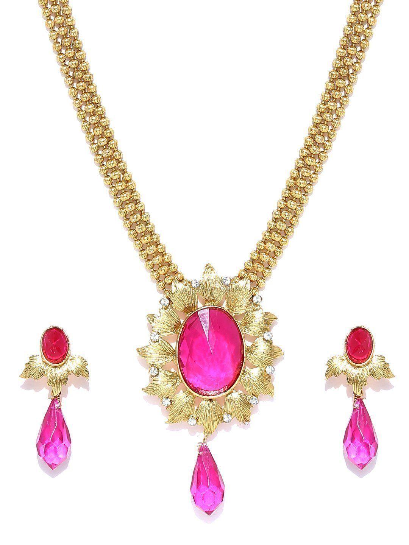 Zaveri pearls swarna magic necklace setzpfk zaveri pearls