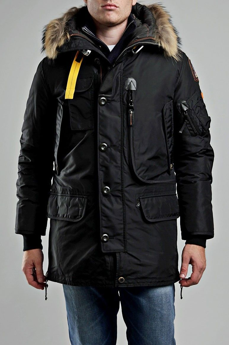 Parajumpers Kodiak Jacket Black Men