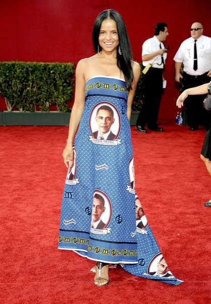 presidential portrait dresses obama crime and carpet