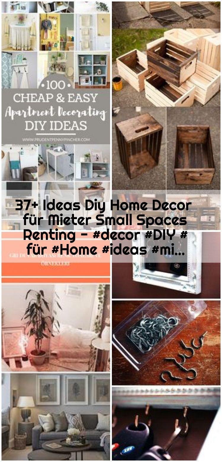 37 Ideas Diy Home Decor Fur Mieter Kleinraumvermietung Decor