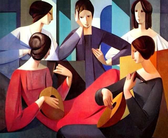 Pittura Moderna Americana.Por Amor Al Arte Pinturas Abstraccion Geometrica De Armando
