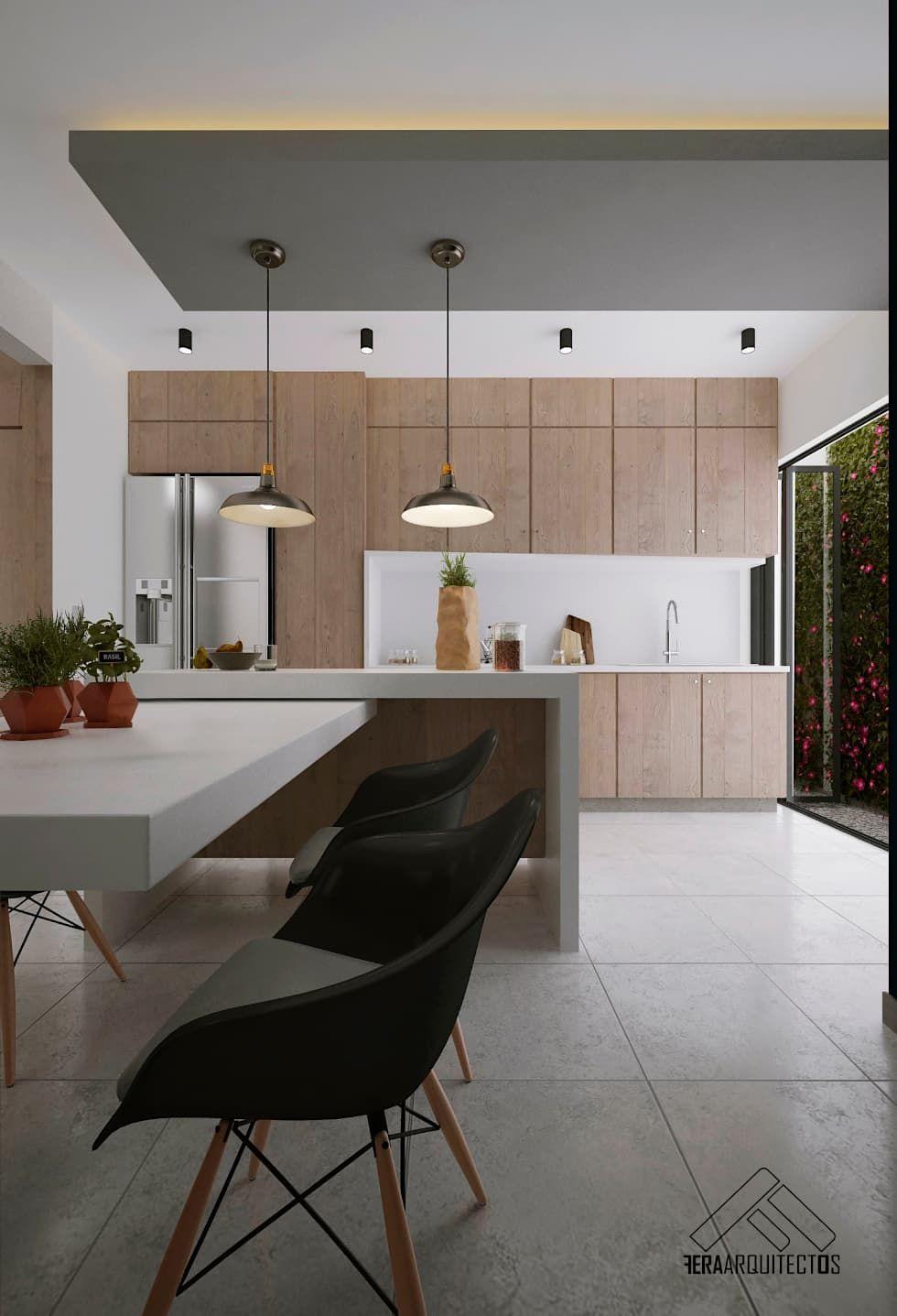 Cocina comedor cocinas de estilo minimalista por for Comedor estilo minimalista