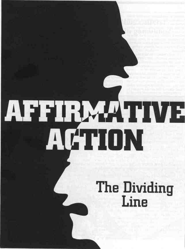 Affirmative Action  Liberals Helping The Lesser Race  Politics