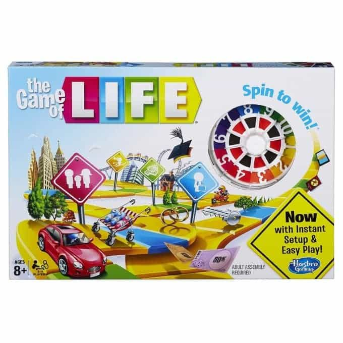 The New Game Of Life By Hasbro With Instructions Classic Board