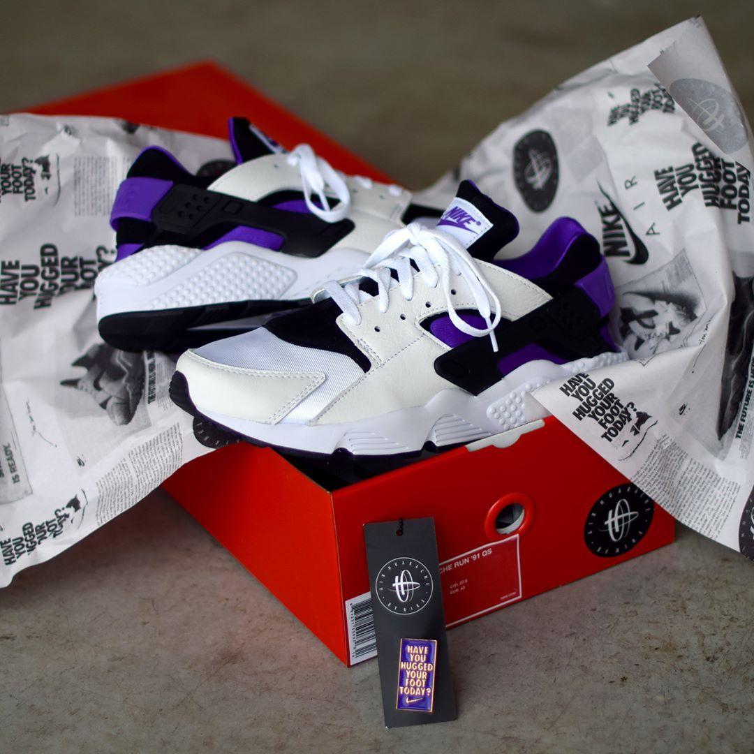 48e19066208db Nike Air Huarache Run  91 OG Purple Punch . Launch 2.3  SNKRS.COM .  Lancement le 2 mars sur SNKRS.COM
