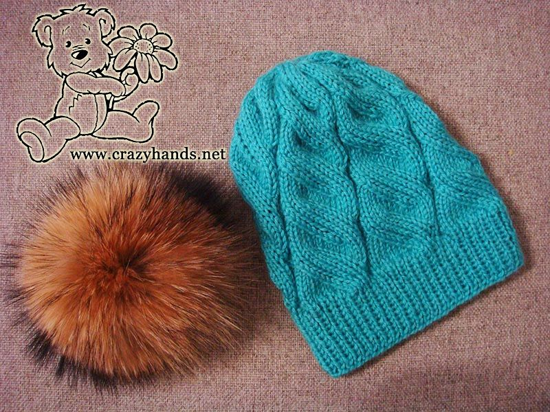 One Of The Most Awesome Free Knitting Patterns For Hats On The Web