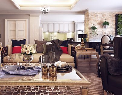 """Check out new work on my @Behance portfolio: """"Sun Rise Apartment!!"""" http://on.be.net/1fl87Td"""