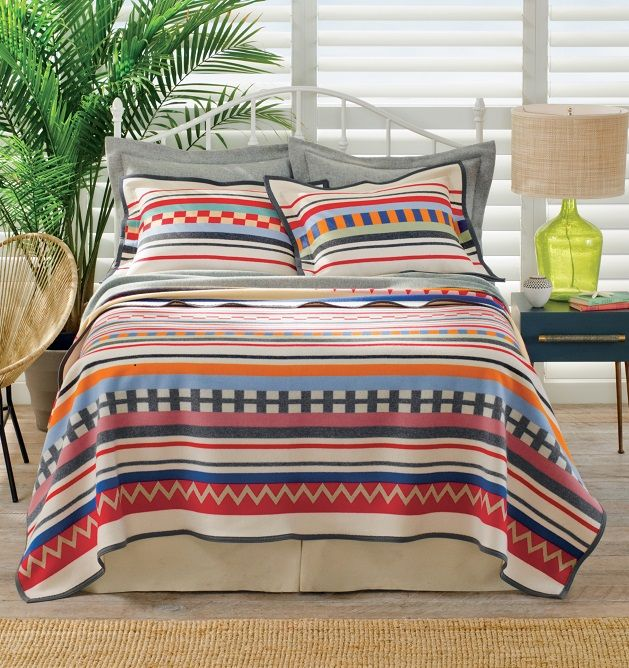 sheet taupe bed bedding canada sets diamond pendleton products river flannel set grande