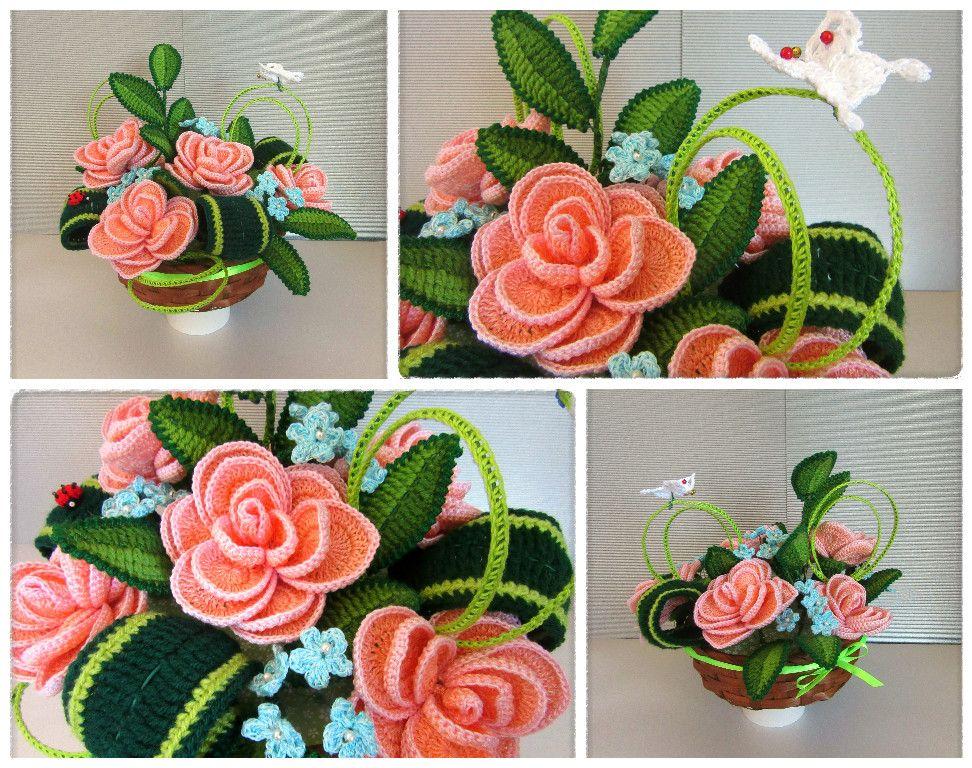 Fiori Alluncinetto.Fiori All Uncinetto Crochet Flowers Www Fiori Uncinetto Com