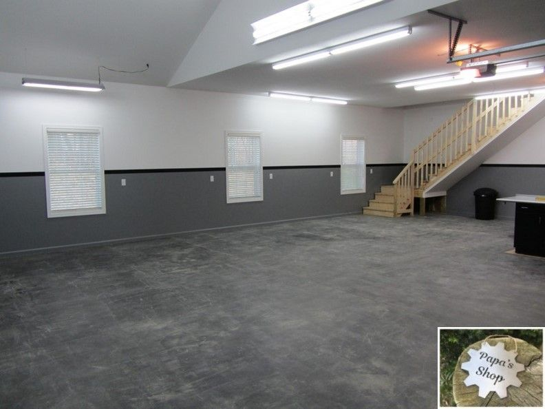 How To Create Your Own Garage Workshop Garage Floor Garage