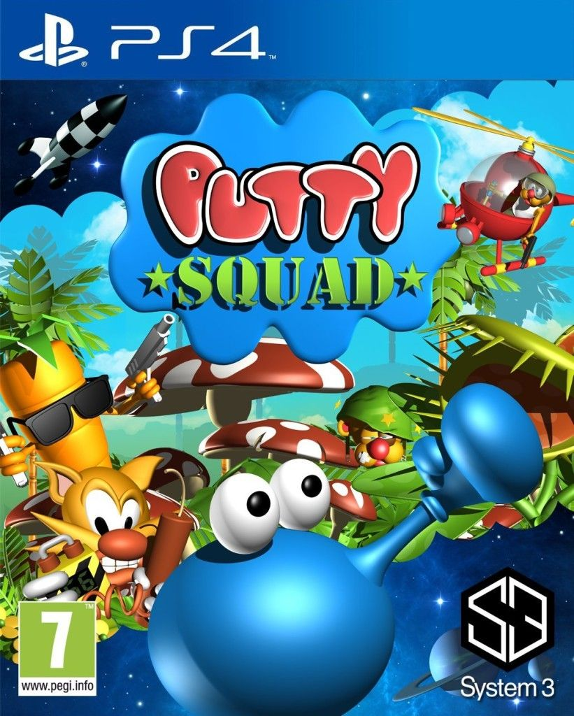 Putty Squad Playstation 4 Videos, reviews, interviews