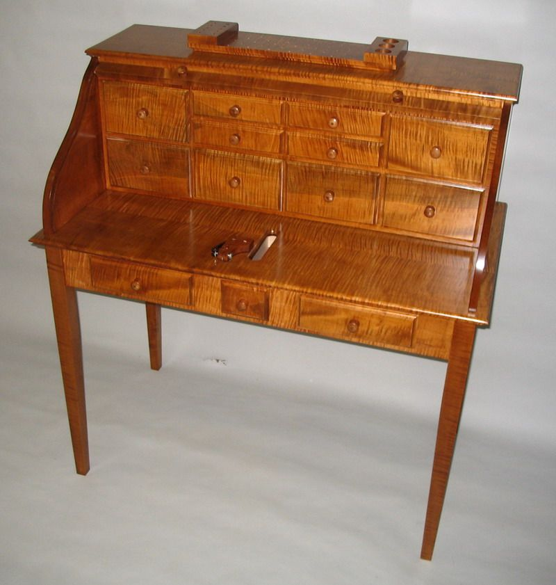 Curly Maple Roll Top Fly Tying Desk  Fly Tying Desks I've. Help Desk Level 2 Salary. Bunk Bed With Built In Desk. Red Coffee Table. Magazine Side Table. 42 Table. Round Rustic Dining Table. White Modern Computer Desk. Computer Desk Second Hand