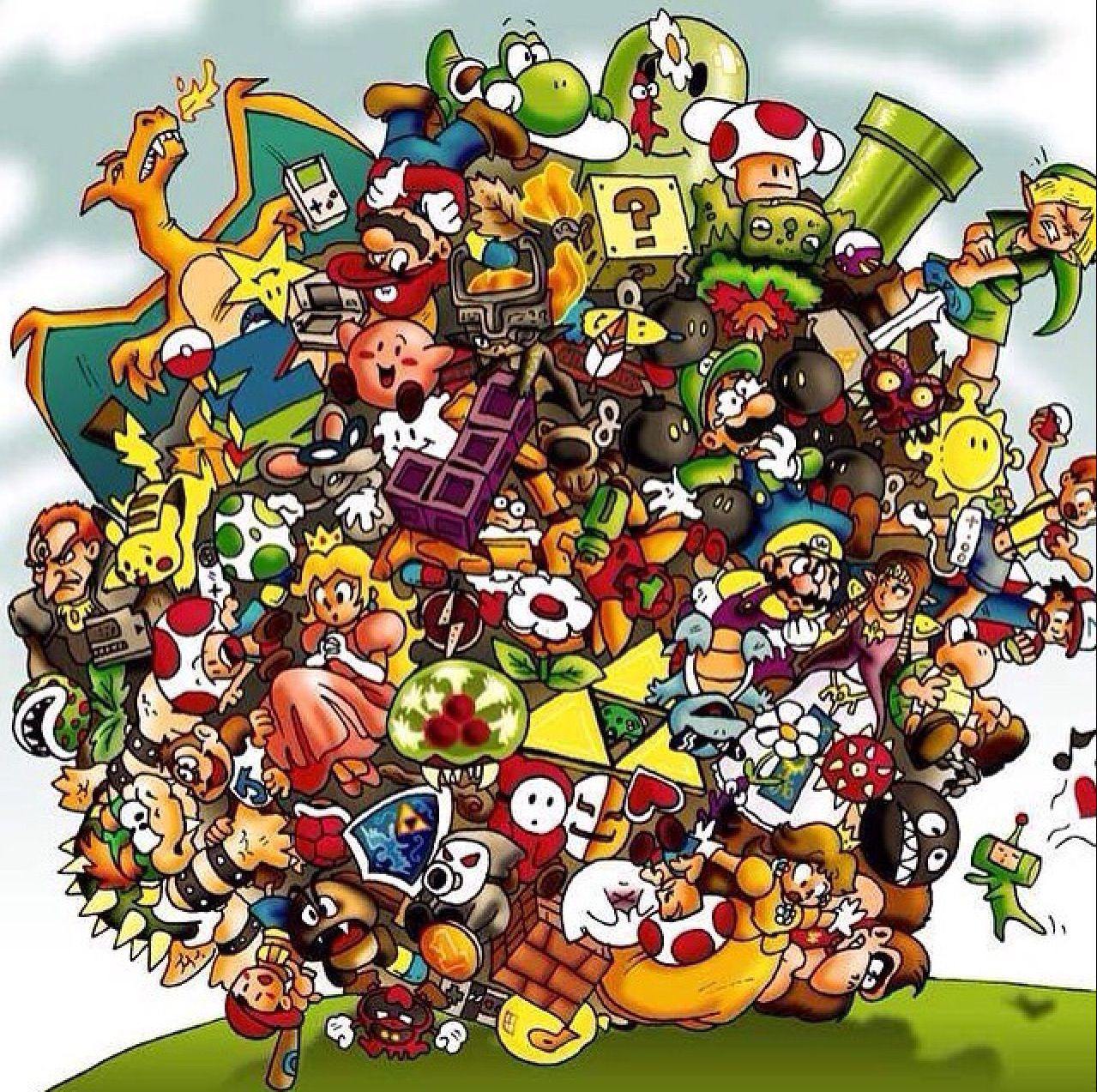 Classic video games Nintendo characters, Character