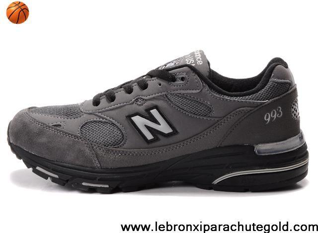 Buy Latest Listing New Balance NB 993 Gray White Logo Shoes