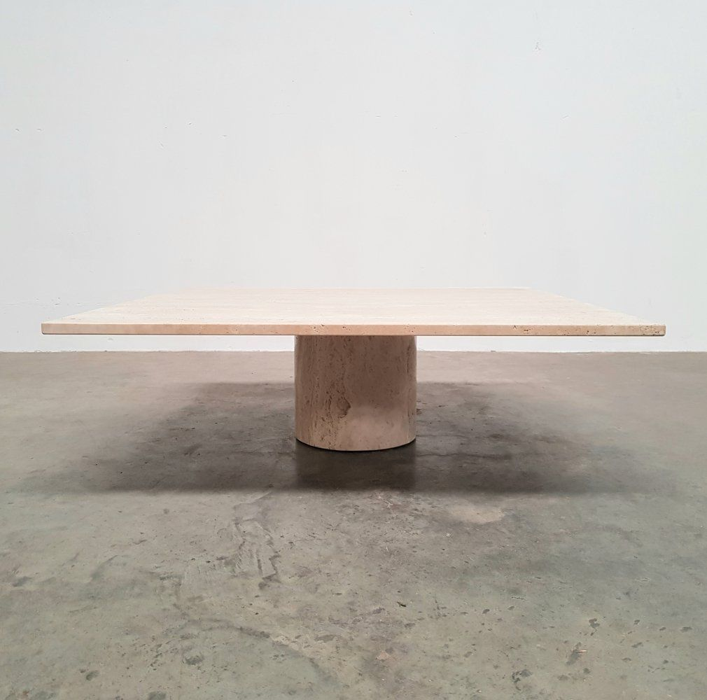 For Sale Travertine Coffee Table Germany 1970s In 2020 Travertine Coffee Table Table Coffee Table