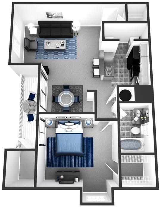 Apartment Condo Floor Plans 1 Bedroom 2 Bedroom 3 Bedroom And Town Diseno Casas Pequenas Interiores De Casas Pequenas Planos Para Construir Casas