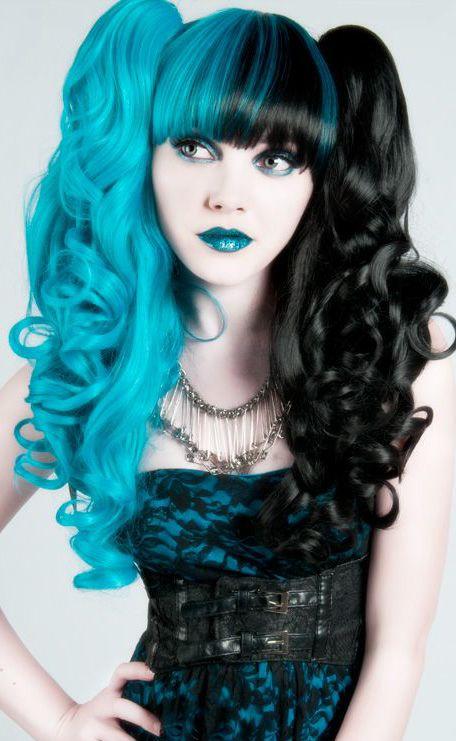 & rainbow hair