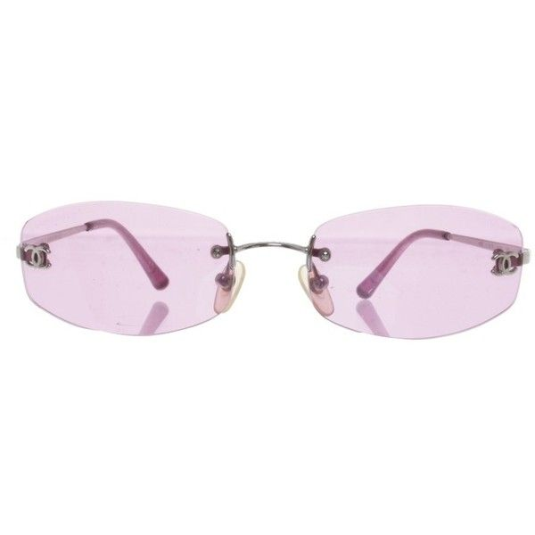25af3947a7 Pre-owned Sunglasses in pink ( 85) ❤ liked on Polyvore featuring accessories