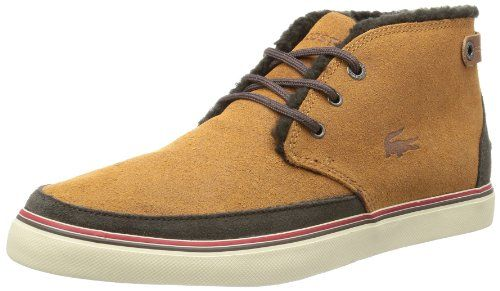 12High Top Marron Homme BraunChaussures Lacoste Clavel vYb7gyIf6