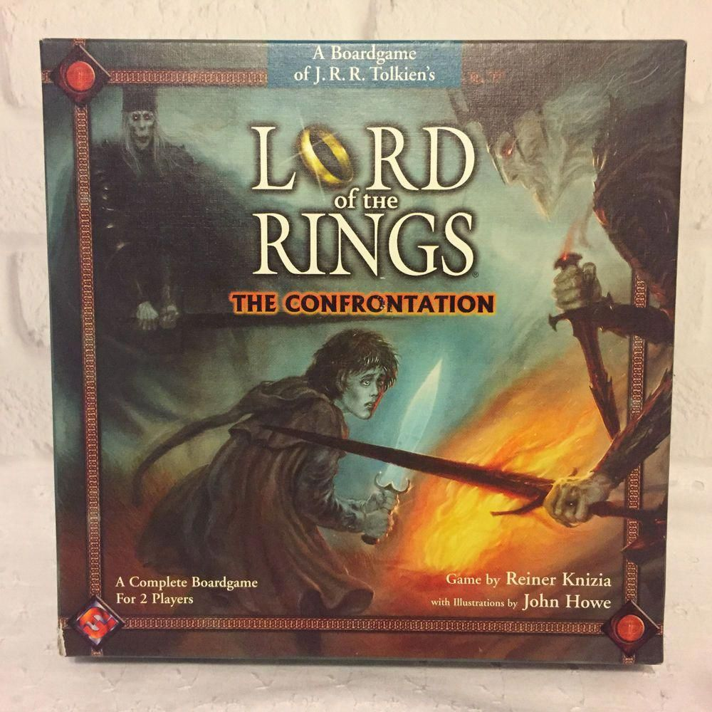 Lord of the Rings Confrontation Game 2002 Complete
