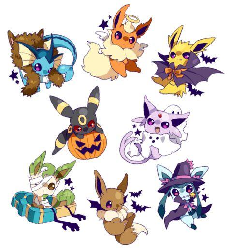 Eeveelutions #Halloween