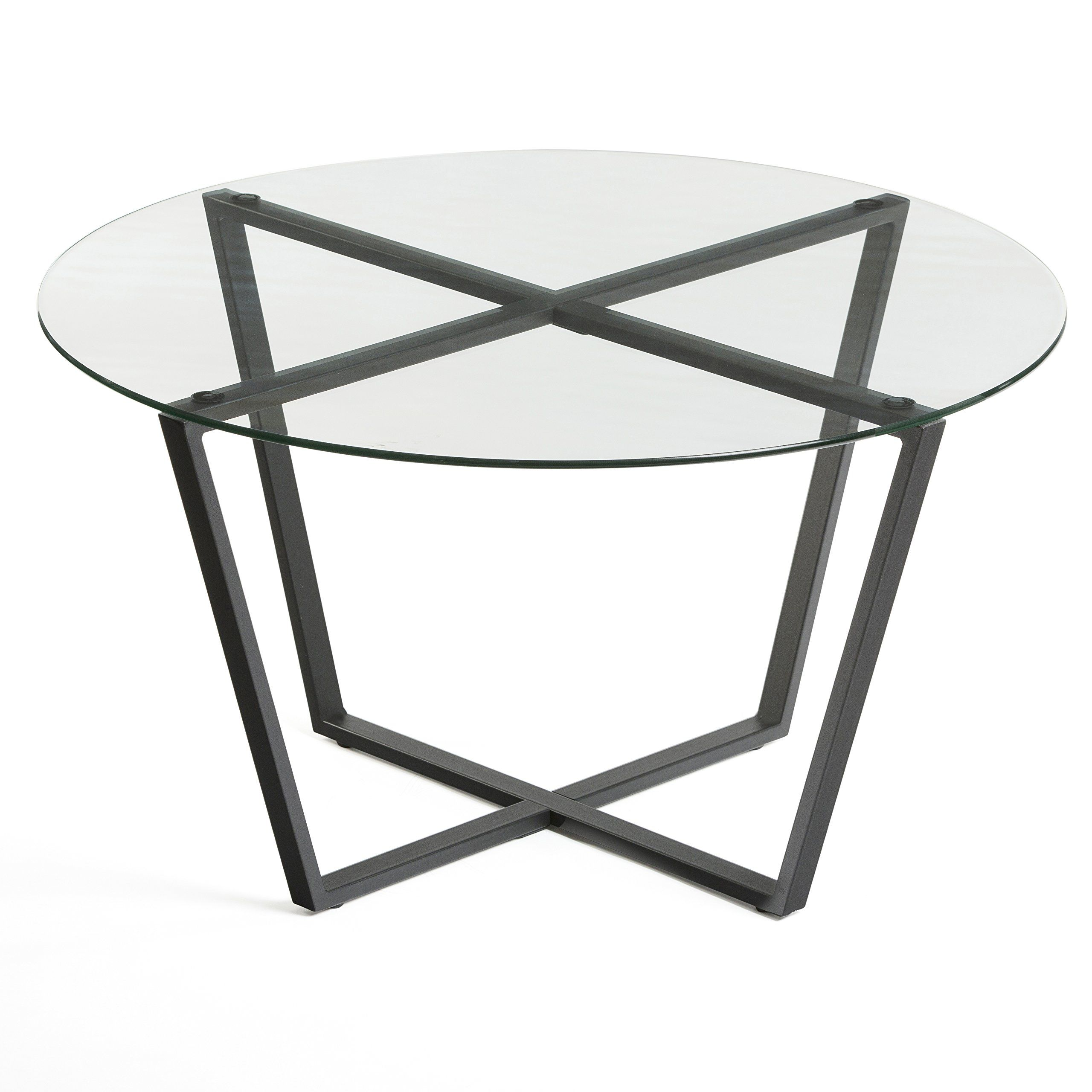 Mango Steam Metro Glass Coffee Table Clear Top Black Base Details Can Be Found By Clicking On The I Coffee Table Round Glass Coffee Table Cool Coffee Tables [ 2560 x 2560 Pixel ]